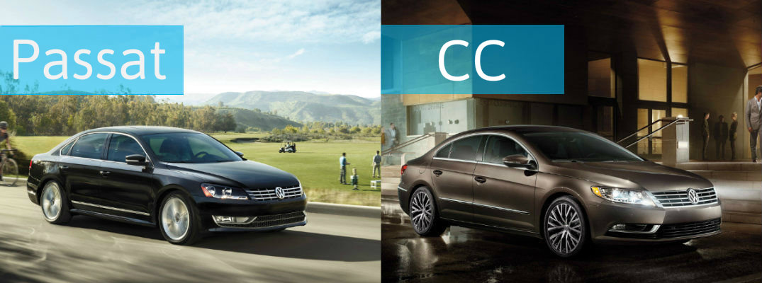 Differences Between 2015 Vw Passat Vs 2015 Vw Cc