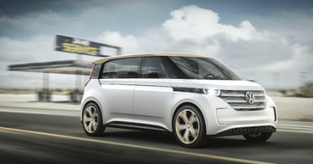 How Far Can The Vw Budd E Microbus Concept Drive