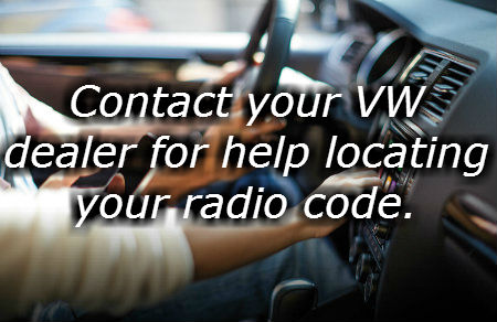 Why does my volkswagen radio say safe where to find vw radio code fandeluxe Images