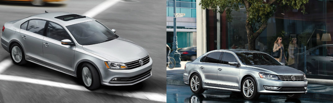 Difference Between 2015 VW Jetta TDI vs 2015 VW Passat TDI 2015 volkswagen jetta vs 2015 volkswagen passat engine options specs performance standard features