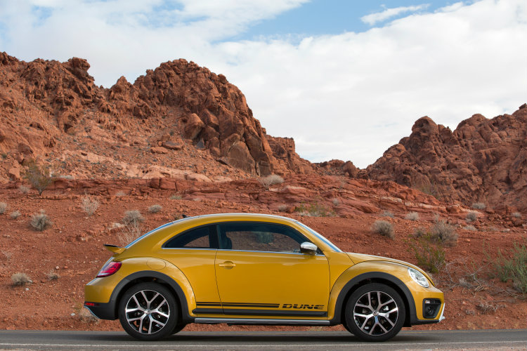 2016 vw beetle dune exterior design and features