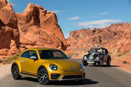 2016 vw beetle dune compared to baja bug