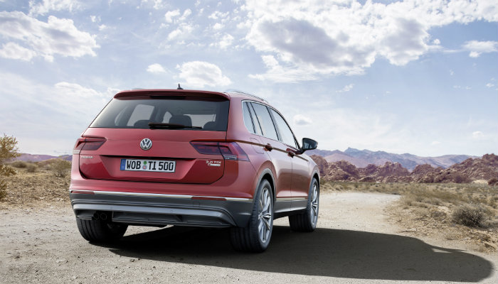 2017 vw tiguan rear design features and changes