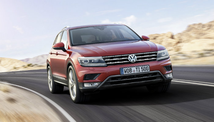 2017 vw tiguan grille redesign