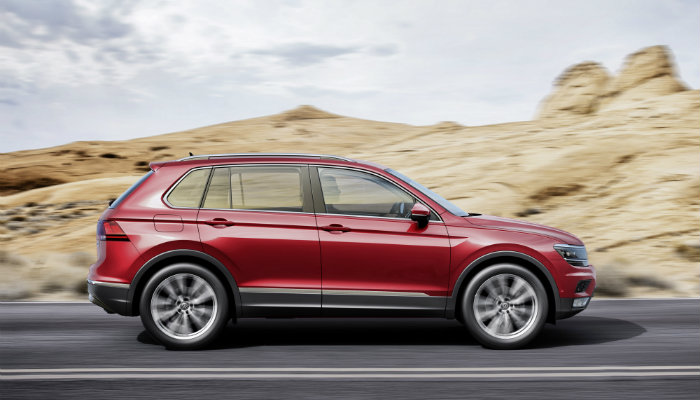 design changes to the 2017 or 2017 vw tiguan