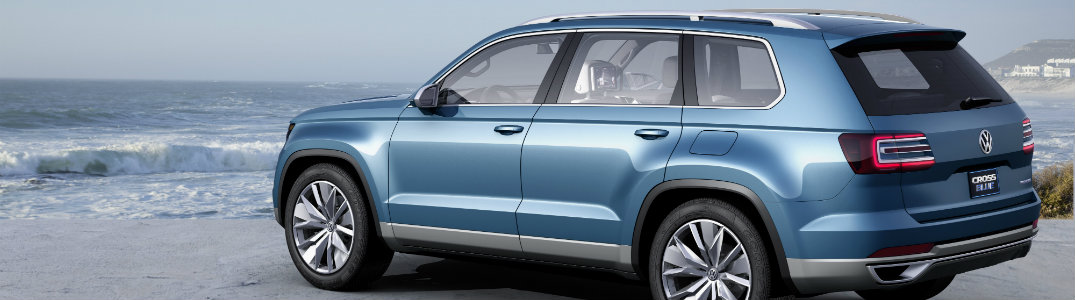 new midsize crossblue suv exterior design features