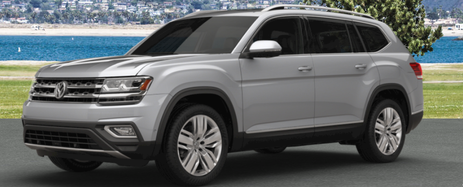 2018 vw atlas painted in reflex silver metallic