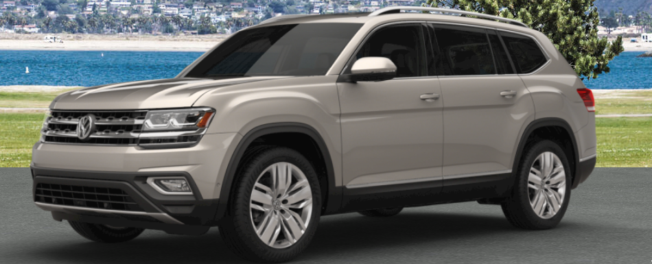2018 vw atlas painted in titanium beige metallic