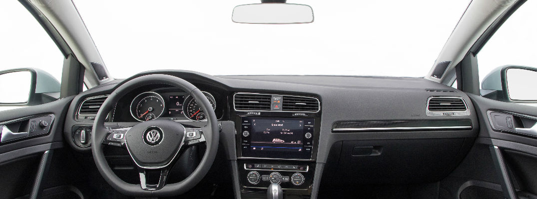 2018 VW Golf Dashboard - 2018 VW Golf Models New Standard Features