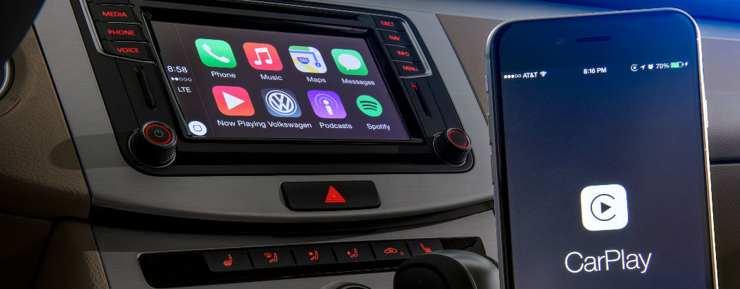 volkswagen car net adds apple carplay android auto and mirrorlink. Black Bedroom Furniture Sets. Home Design Ideas