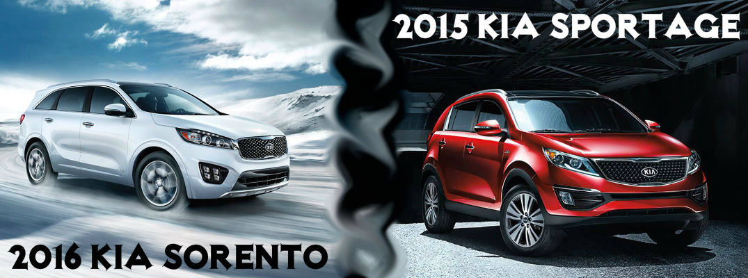 2016 kia sorento vs 2015 kia sportage. Black Bedroom Furniture Sets. Home Design Ideas