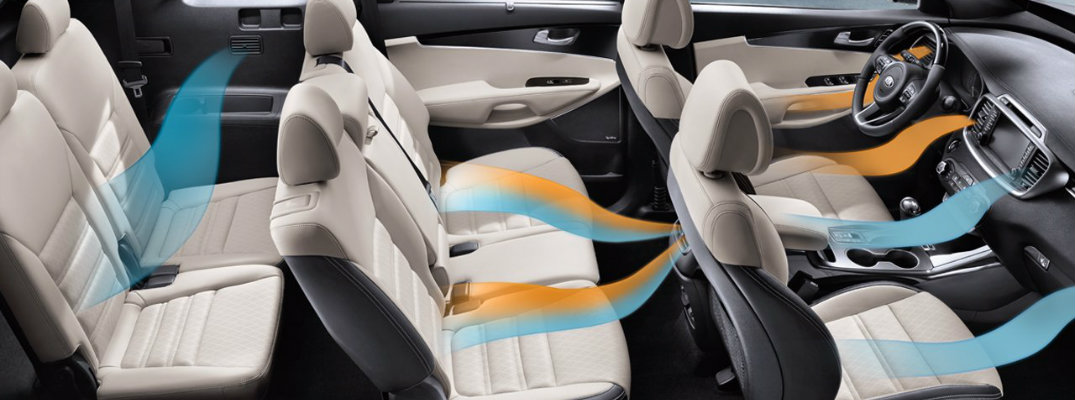 does the 2016 kia sorento have third row seating. Black Bedroom Furniture Sets. Home Design Ideas