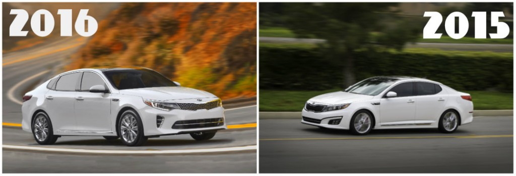2016 Kia Optima Vs 2015 Kia Optima
