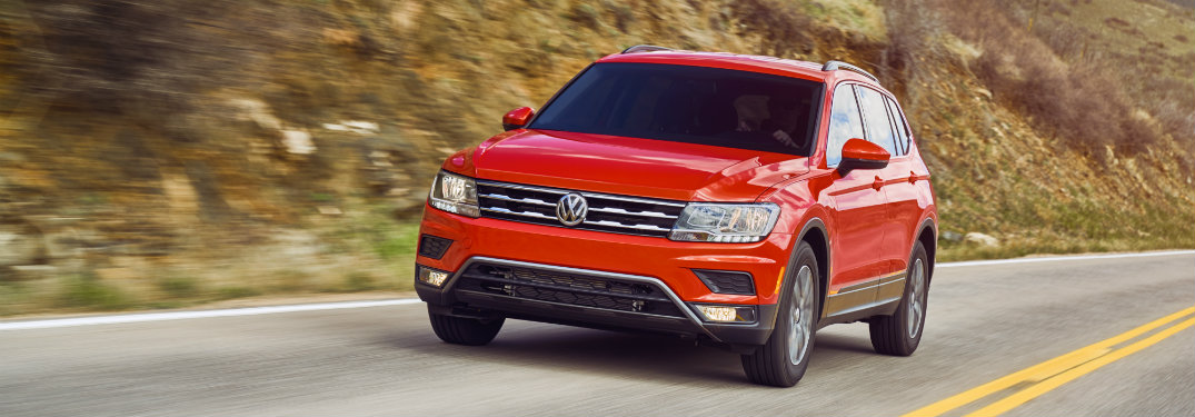 What is the price of the 2018 Volkswagen Tiguan?