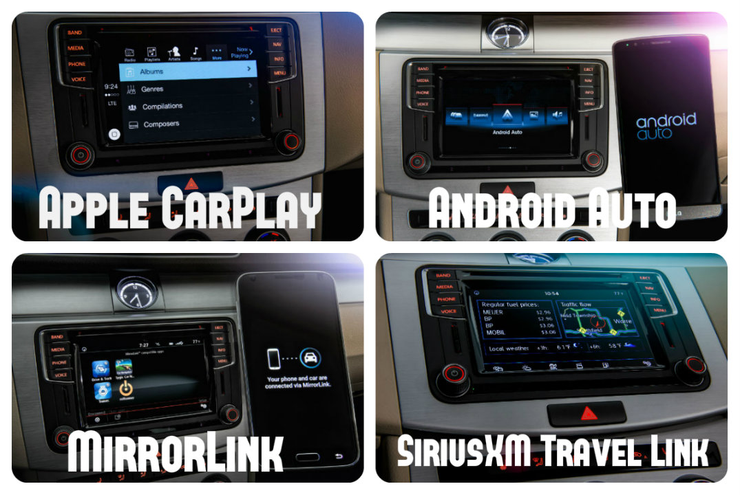 vw compatibility with apple carplay android auto and mirrorlink. Black Bedroom Furniture Sets. Home Design Ideas