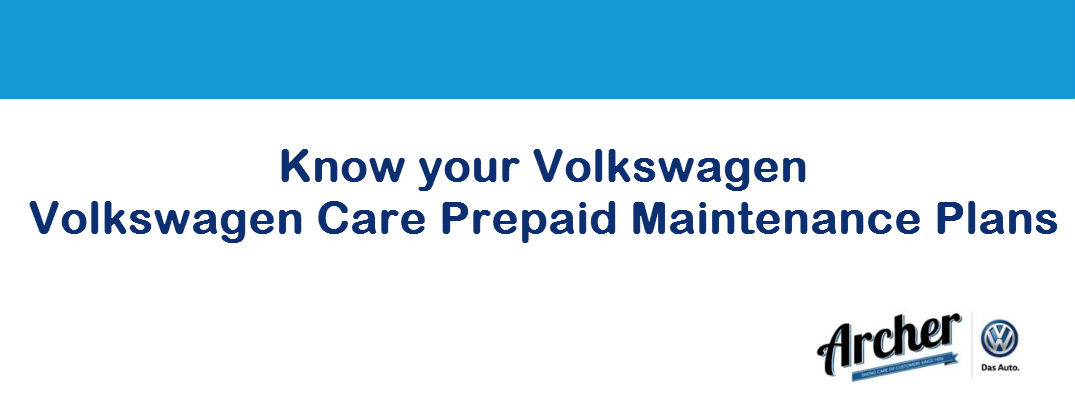 Save With Volkswagen Care Prepaid Maintenance Plans