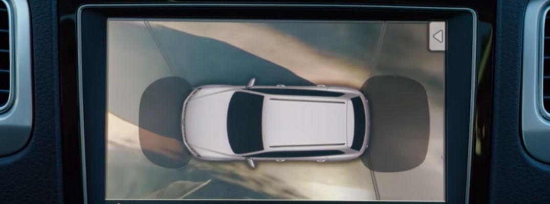 Overhead View Camera Driver Assistance