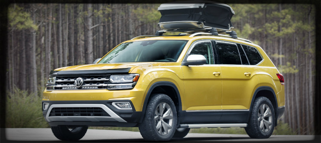 About the Volkswagen Atlas Weekend Edition Concept