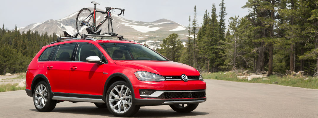 2017 Golf Alltrack with Bike Mount