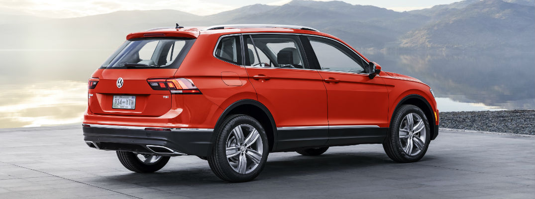 2018 Tiguan in Red