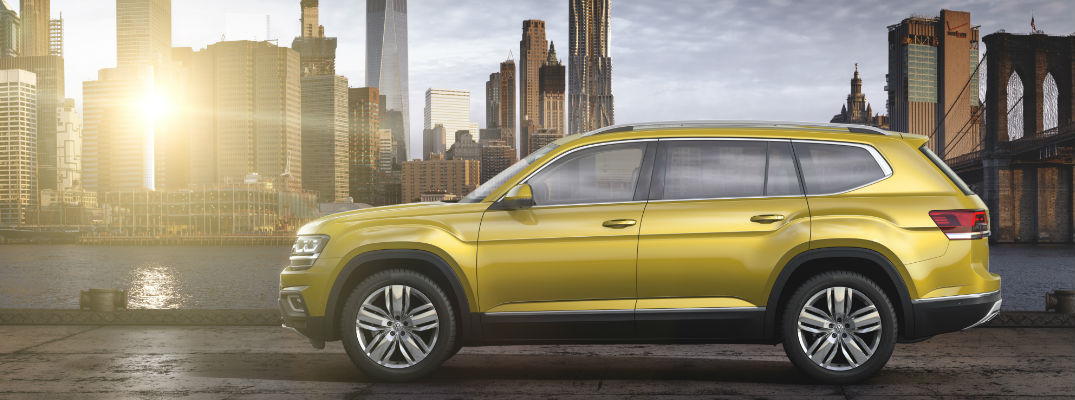 2018 Atlas in Golden Yellow