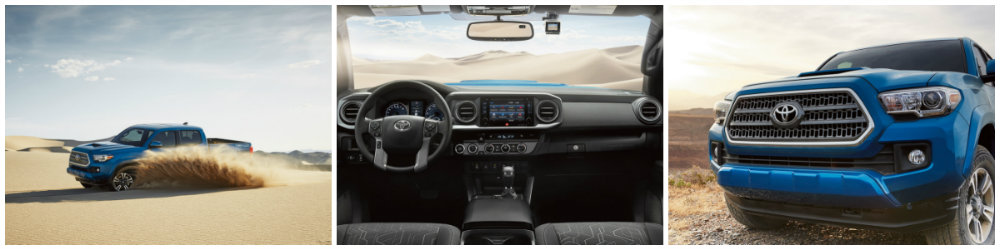 What's the difference between the 2016 Tacoma TRD Sport ...