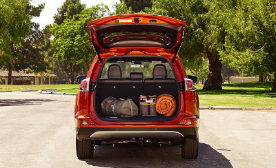 how much space is in the 2016 toyota rav4. Black Bedroom Furniture Sets. Home Design Ideas