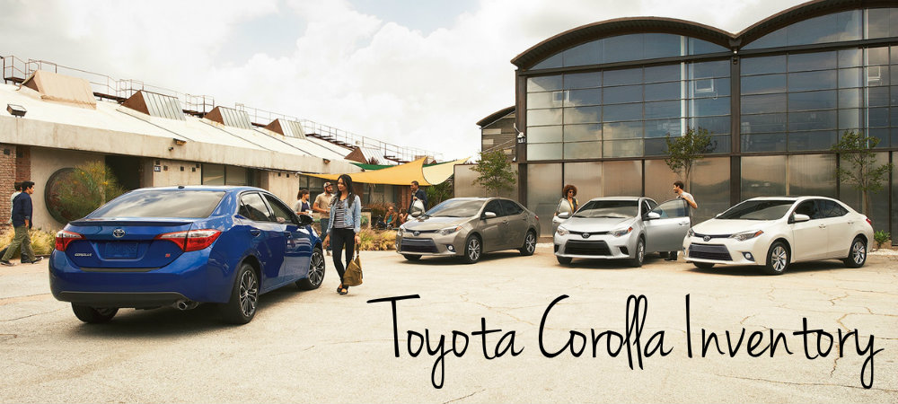 Which features come standard on the 2016 Toyota Corolla?