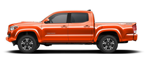 2017 Toyota Tacoma Features and Exterior Colors