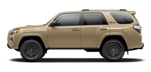 2016 Toyota 4Runner Exterior Colors and Accessories