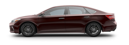 2017 Toyota Avalon Exterior Colors And Accessories