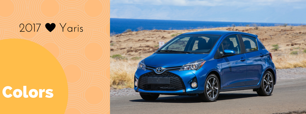 2017 Toyota Yaris Exterior Colors And Accessories