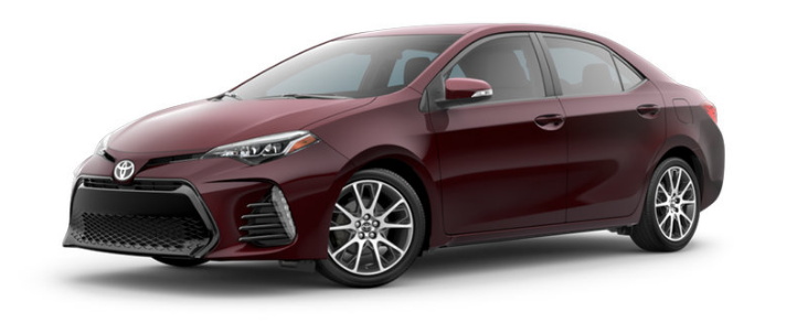 2017 toyota corolla color options and trims. Black Bedroom Furniture Sets. Home Design Ideas
