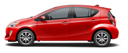 Absolutely Red Prius C_o