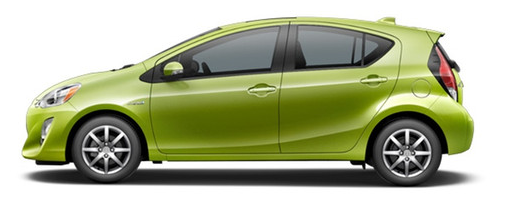 Electric Lime Prius C_o