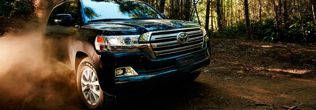 2017 Toyota Land Cruiser Seating and Cargo Capacity