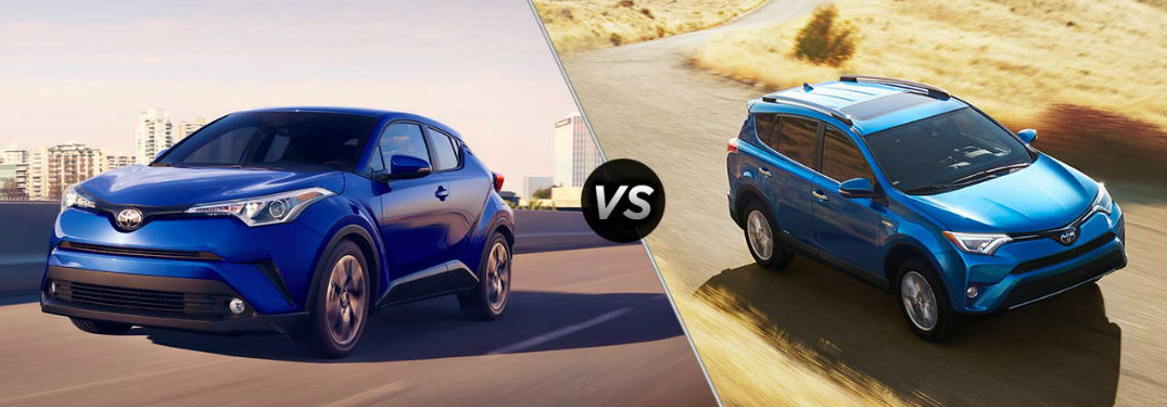Similarities and Differences between the 2017 Toyota RAV4 vs the 2018 Toyota C-HR