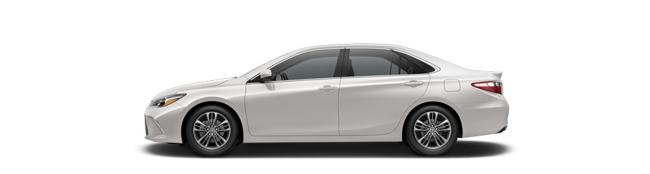 2016 Toyota Camry blizzard pearl