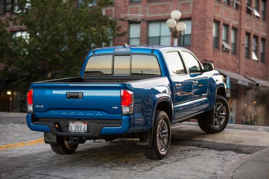 Fuel Efficiency Of The 2016 Toyota Tacoma