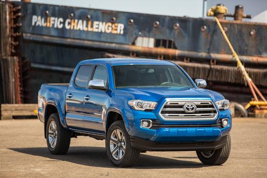MPG Of The 2016 Toyota Tacoma