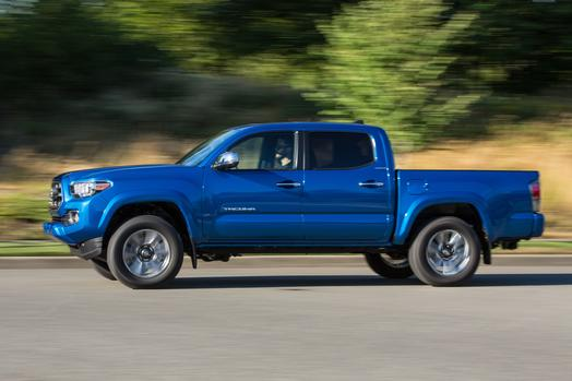 Price tag of the 2016 Toyota Tacoma