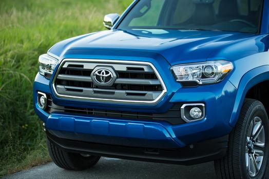 Color options for the 2016 Tacoma