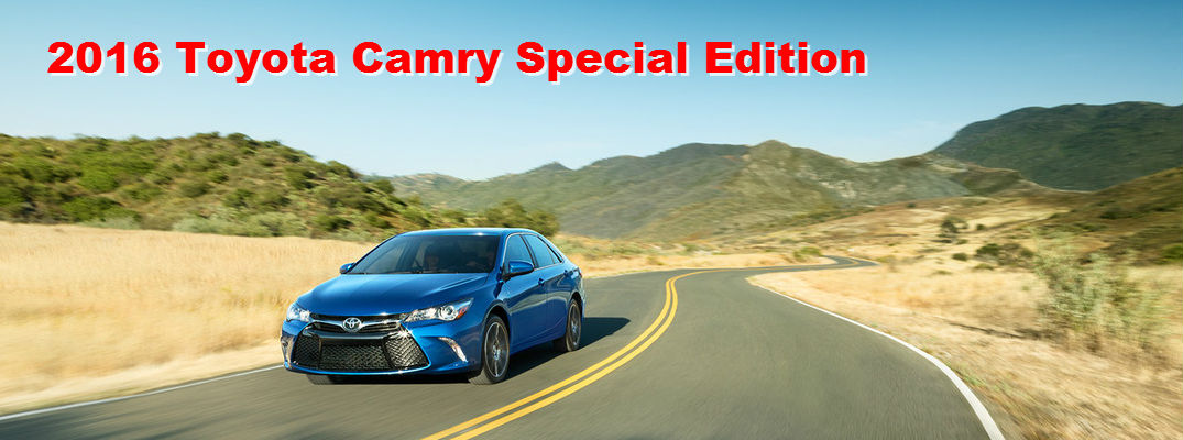 2016 camry special edition specs. Black Bedroom Furniture Sets. Home Design Ideas