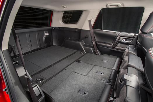 does the toyota 4runner have standard third row seating. Black Bedroom Furniture Sets. Home Design Ideas
