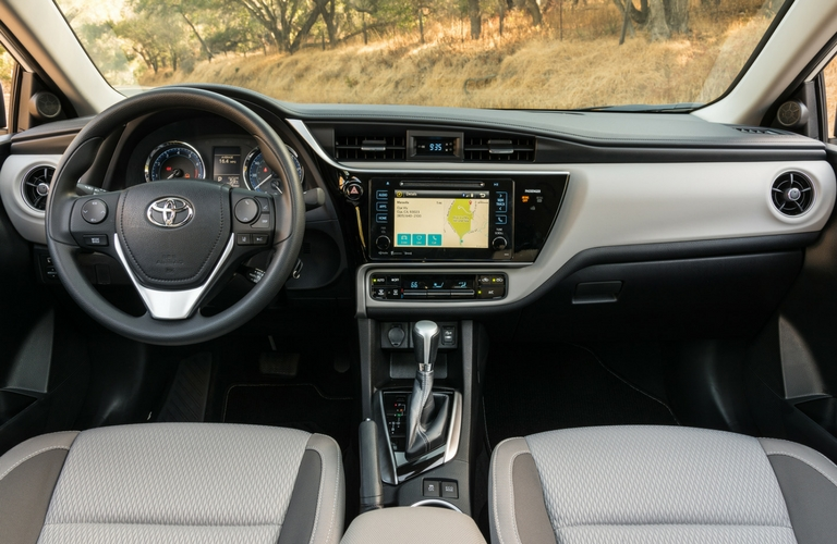 2017 Toyota Corolla standard safety features