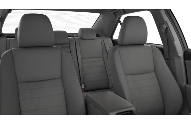 2017 Toyota Camry with Ash fabric