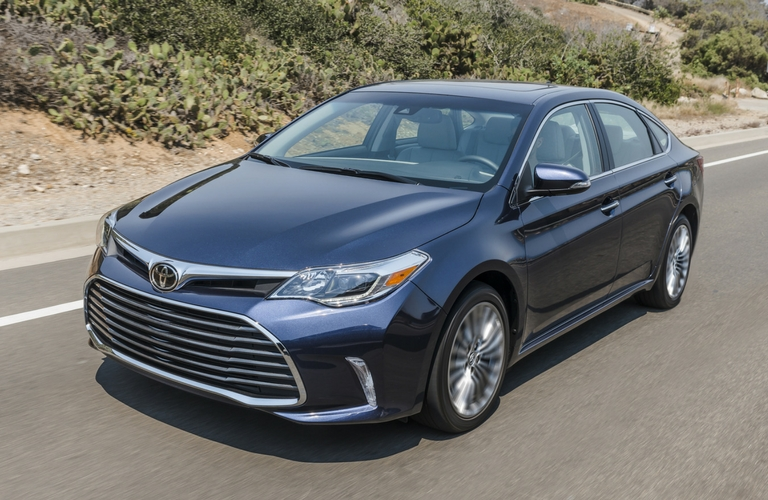 2017 Toyota Avalon advanced safety features