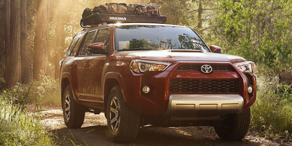 2017 Toyota 4Runner Exterior View in Red