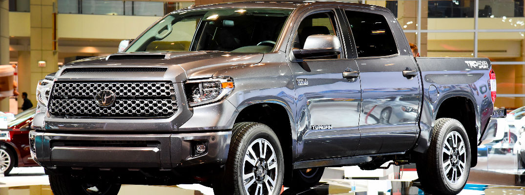 2018 Toyota Tundra Double Cab >> 2018 Toyota Tundra TRD Sport Specifications and Information