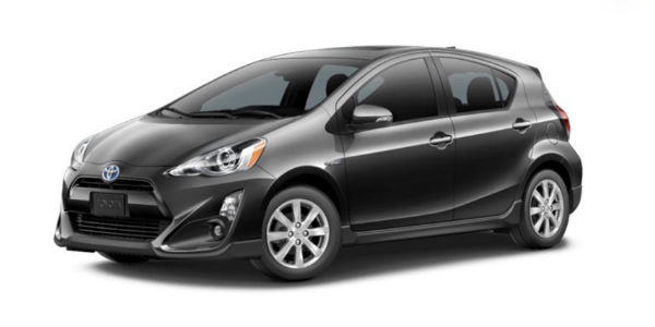 2017 Toyota Prius C in Magnetic Gray Metallic